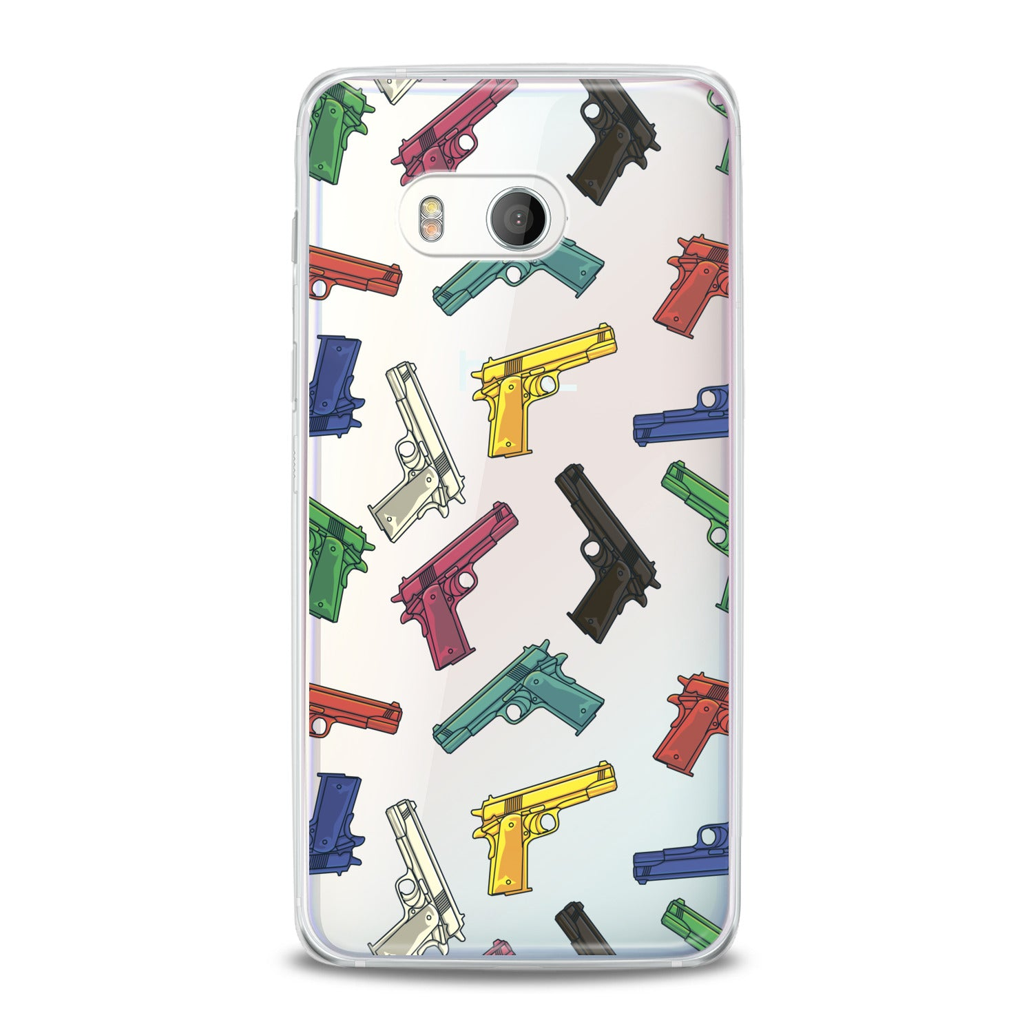 Lex Altern Colored Weapons HTC Case