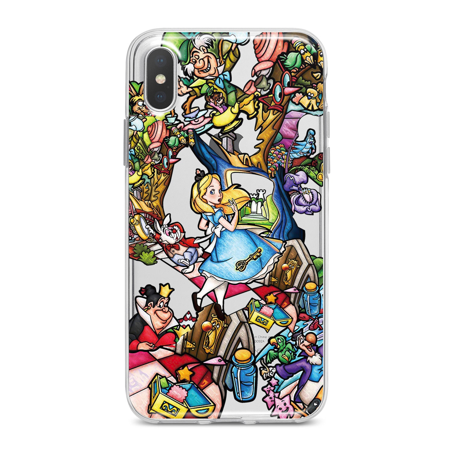 Lex Altern Alice In Wonderland Art Phone Case for your iPhone & Android phone.