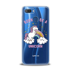 Lex Altern TPU Silicone Lenovo Case Rainbow Unicorns Kawaii