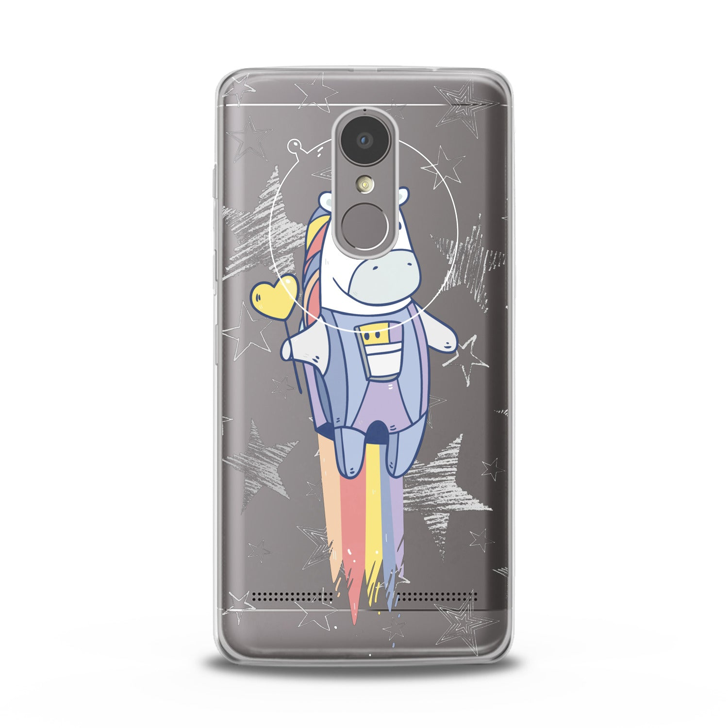 Lex Altern Kawaii Unicorns Lenovo Case