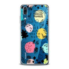 Lex Altern TPU Silicone Huawei Honor Case Drawing Unicorn Art