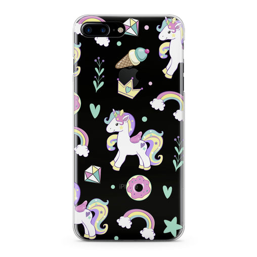 Lex Altern Baby Unicorn Print Phone Case for your iPhone & Android phone.