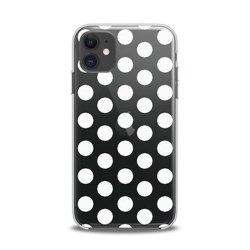 Lex Altern TPU Silicone iPhone Case Polka Dot