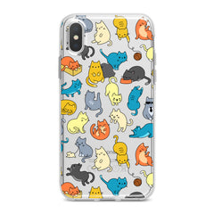 Lex Altern Colorful Cats Phone Case for your iPhone & Android phone.