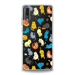 Lex Altern TPU Silicone Huawei Honor Case Colorful Cats