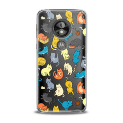 Lex Altern TPU Silicone Phone Case Colorful Cats