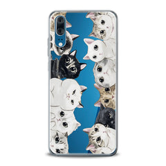 Lex Altern TPU Silicone Huawei Honor Case Kawaii Kittens