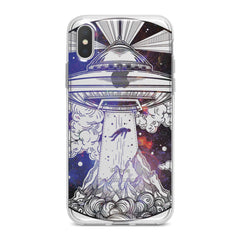 Lex Altern Spaceship Print Phone Case for your iPhone & Android phone.