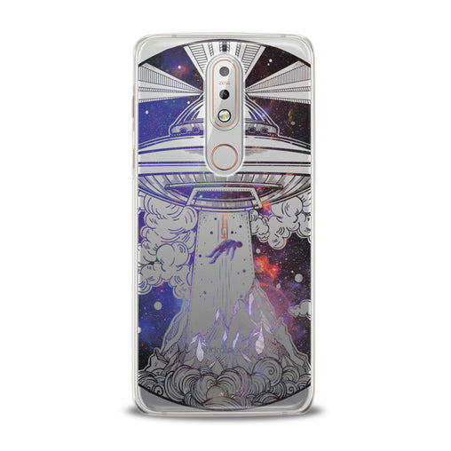 Lex Altern Spaceship Print Nokia Case