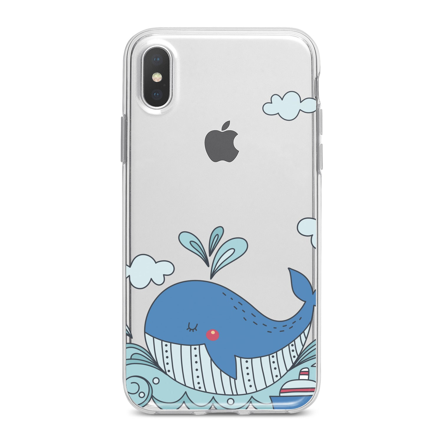 Lex Altern Blue Whale Phone Case for your iPhone & Android phone.