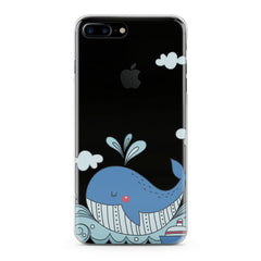 Lex Altern TPU Silicone Phone Case Blue Whale