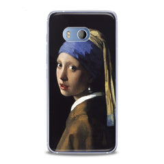 Lex Altern TPU Silicone HTC Case Girl with a Pearl Earring