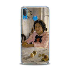 Lex Altern TPU Silicone Lenovo Case Girl with Peaches