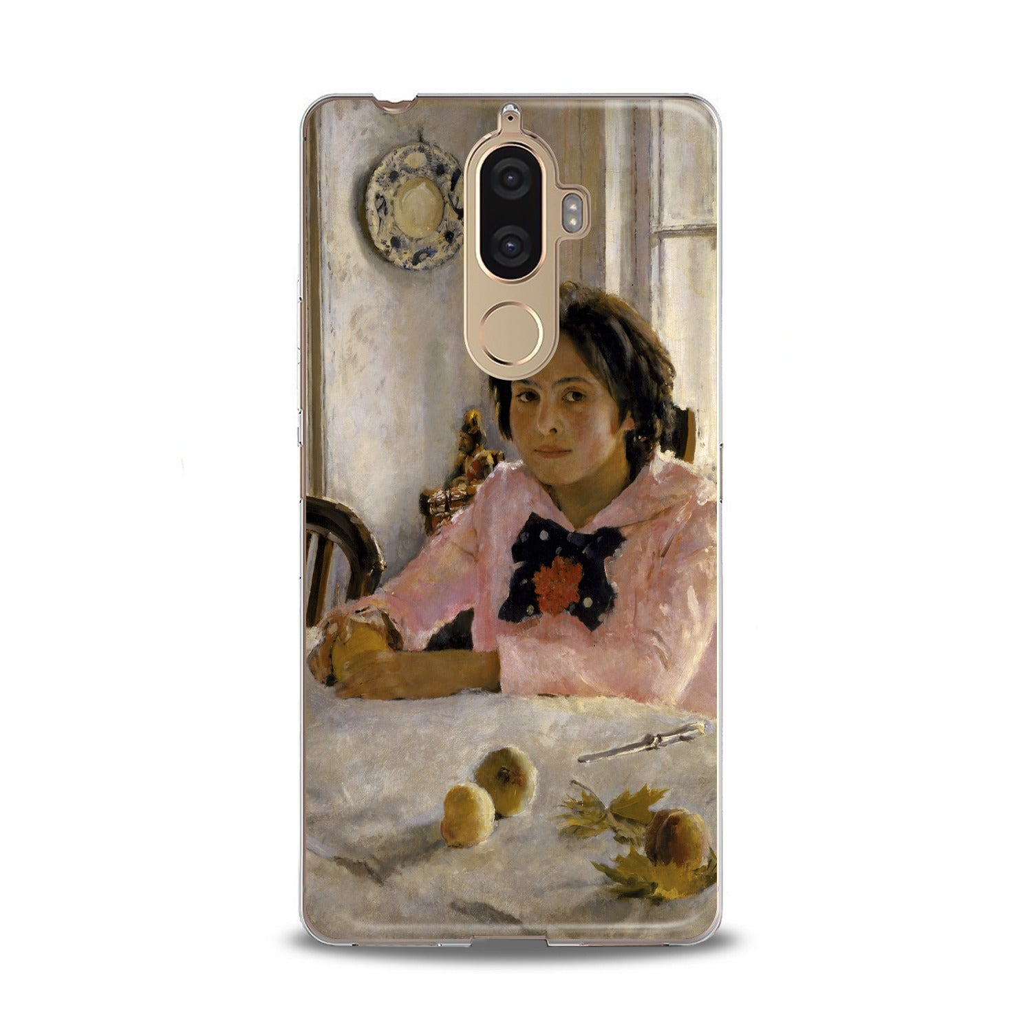 Lex Altern Girl with Peaches Lenovo Case