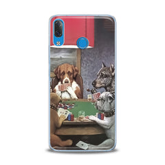Lex Altern TPU Silicone Lenovo Case Dogs Playing Poker