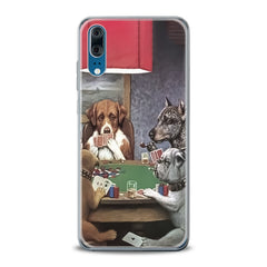 Lex Altern TPU Silicone Huawei Honor Case Dogs Playing Poker