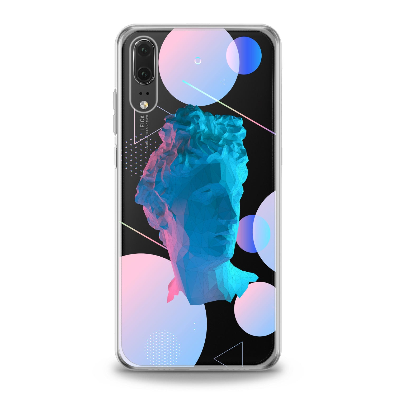 Lex Altern Abstract Sculpture Huawei Honor Case