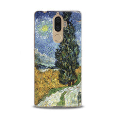 Lex Altern Wheat Field with Cypresses Lenovo Case