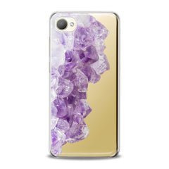 Lex Altern TPU Silicone HTC Case Purple Minerals