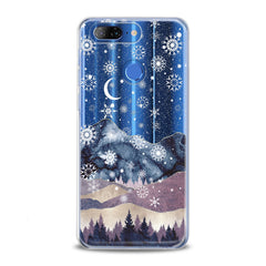 Lex Altern TPU Silicone Lenovo Case Snowy Mountain Nature