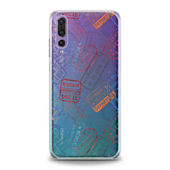 Lex Altern Travel Pattern Huawei Honor Case