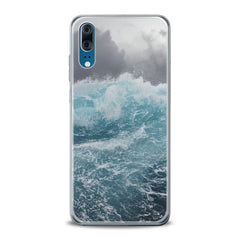 Lex Altern TPU Silicone Huawei Honor Case Storm Waves