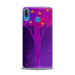 Lex Altern TPU Silicone Lenovo Case Purple Tree