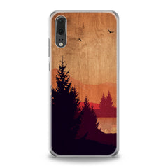 Lex Altern Sunset Landscape Huawei Honor Case