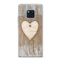 Lex Altern TPU Silicone Huawei Honor Case Wooden Heart
