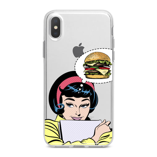 Lex Altern Burger Print Phone Case for your iPhone & Android phone.