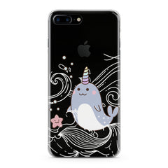 Lex Altern Cute Narwhal Phone Case for your iPhone & Android phone.