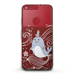 Lex Altern TPU Silicone Phone Case Cute Narwhal