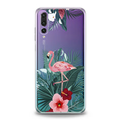 Lex Altern Gentle Pink Flamingo Huawei Honor Case
