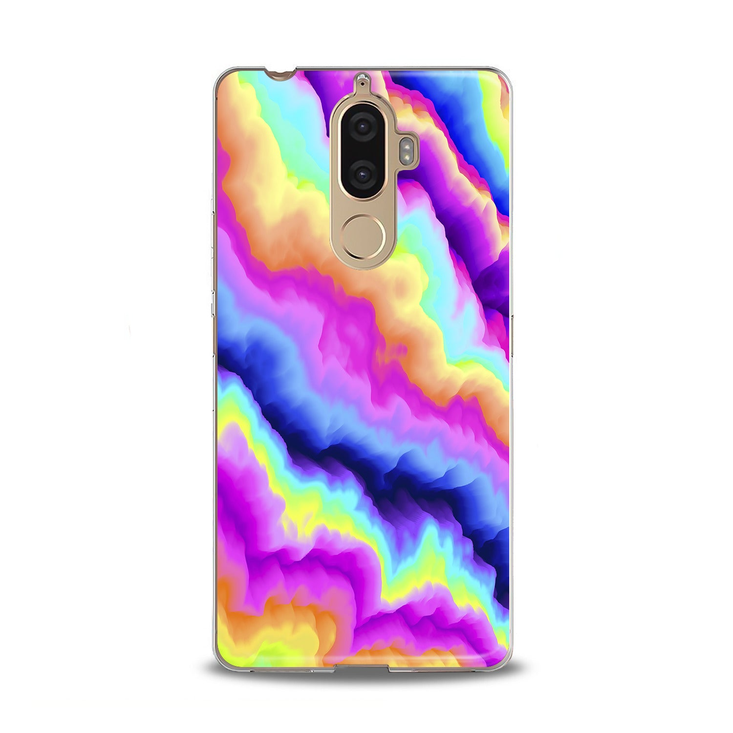 Lex Altern TPU Silicone Lenovo Case Colorful 3D Print