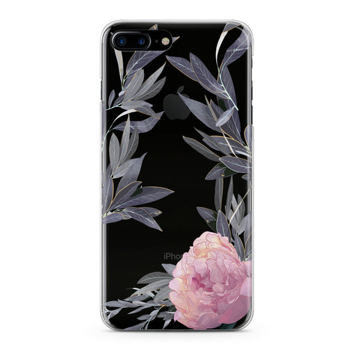 Lex Altern Pink Peony Flowering Phone Case for your iPhone & Android phone.