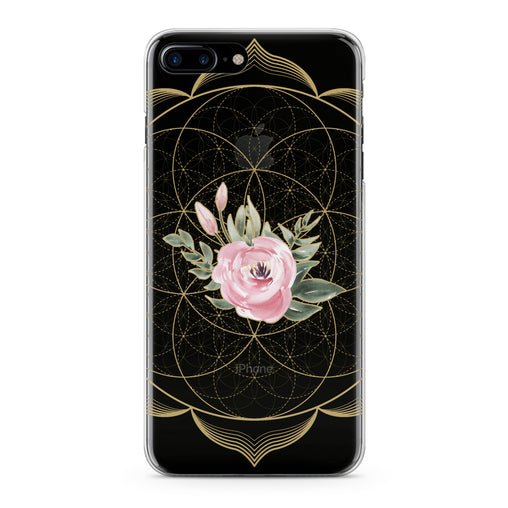 Lex Altern Pink Tea Rose Phone Case for your iPhone & Android phone.