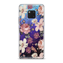 Lex Altern TPU Silicone Huawei Honor Case Floral Pattern