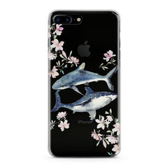 Lex Altern Floral Shark Phone Case for your iPhone & Android phone.