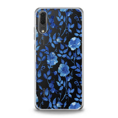 Lex Altern TPU Silicone Huawei Honor Case Blue Flowers Blossom