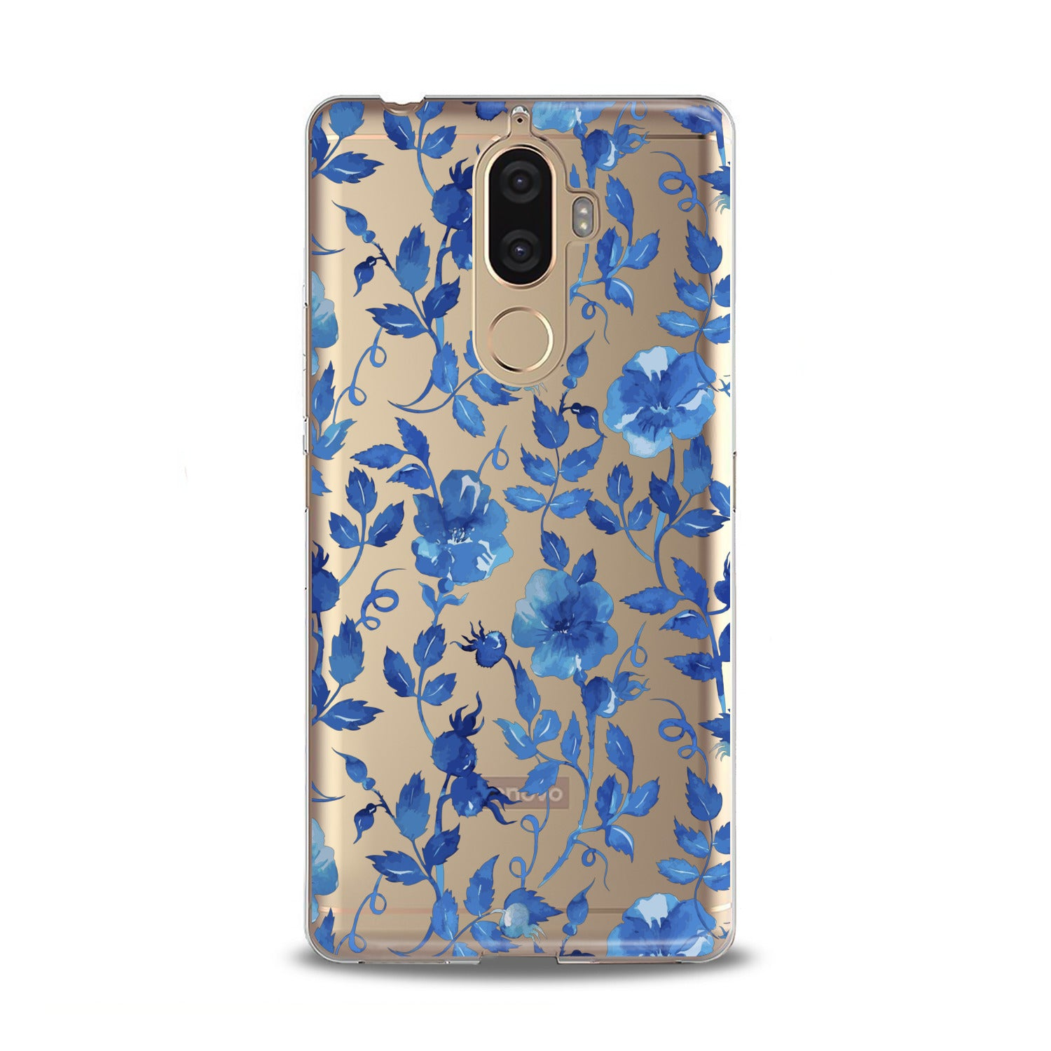 Lex Altern Blue Flowers Blossom Lenovo Case