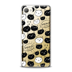 Lex Altern TPU Silicone HTC Case Funny Cats