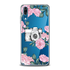 Lex Altern TPU Silicone Huawei Honor Case Floral Camera