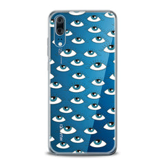 Lex Altern TPU Silicone Huawei Honor Case Eyes Pattern