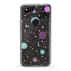 Lex Altern Google Pixel Case Colorful Galaxy