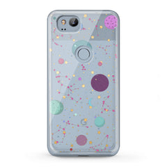 Lex Altern TPU Silicone Google Pixel Case Colorful Galaxy