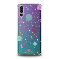Lex Altern TPU Silicone Huawei Honor Case Colorful Galaxy