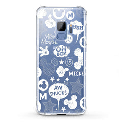 Lex Altern TPU Silicone Samsung Galaxy Case Mickey Cartoon