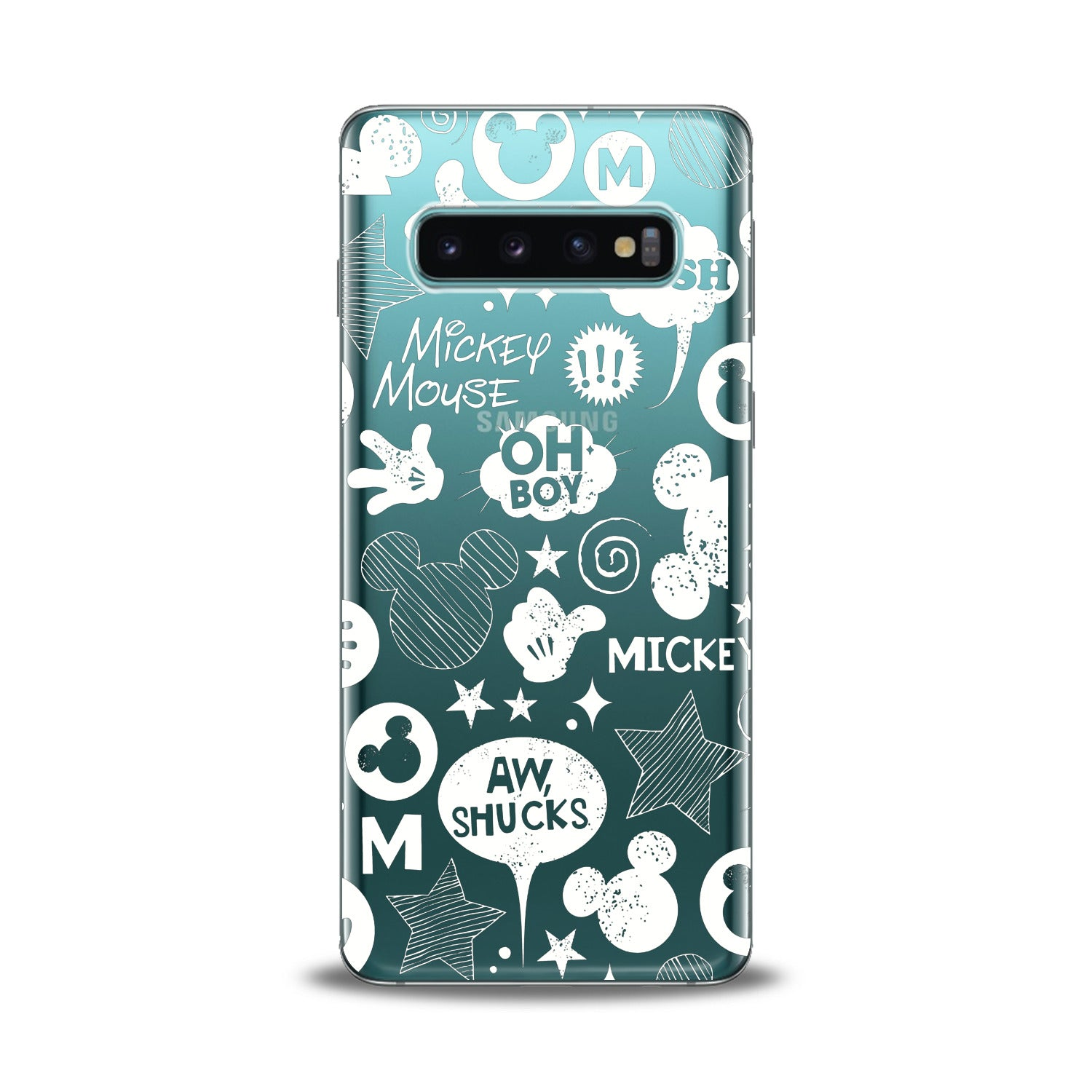 Lex Altern Mickey Cartoon Samsung Galaxy Case