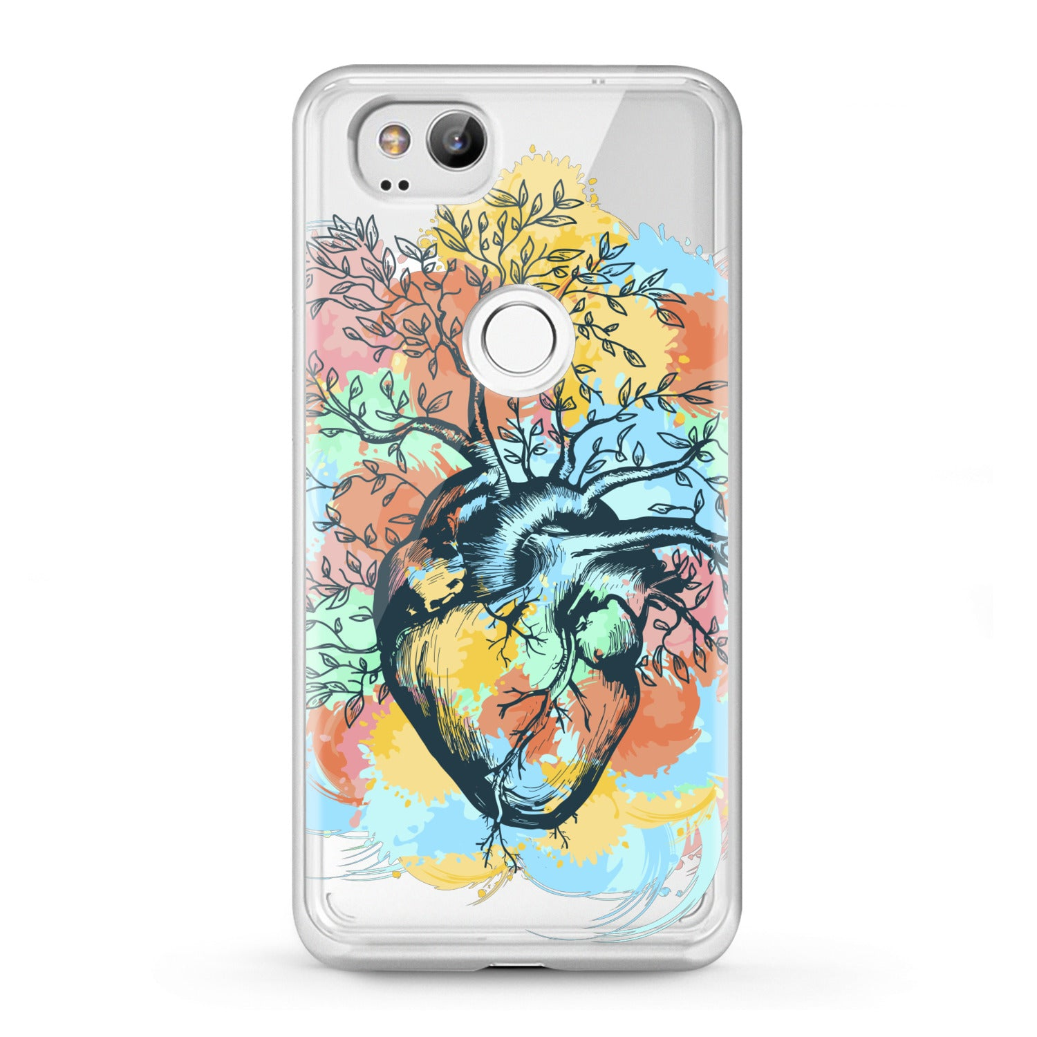 Lex Altern Google Pixel Case Nature Heart