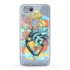 Lex Altern TPU Silicone Google Pixel Case Nature Heart